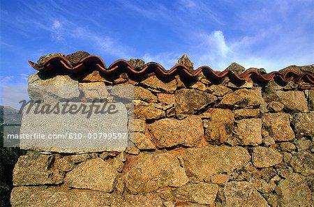Maison traditionnelle de la France, Corse,
