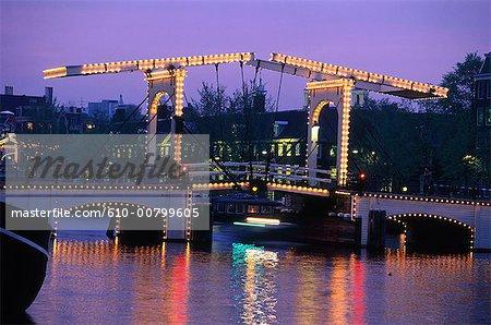 Netherlands, Amsterdam, canals