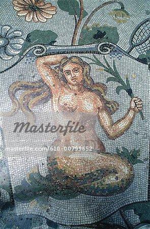 Sirène de la Campanie, Pompei, Italie