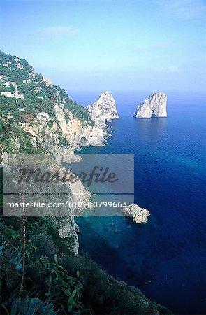 Italie, Campanie, Naples, Capri