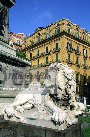 Statue de Campanie, Naples, Italie