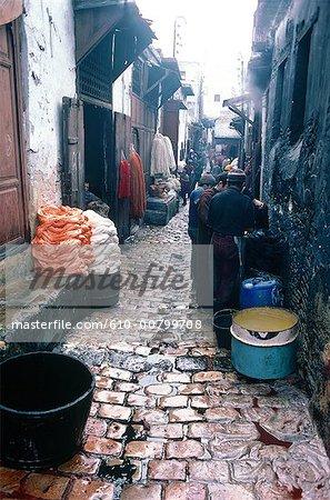 Morocco, Fes, medina
