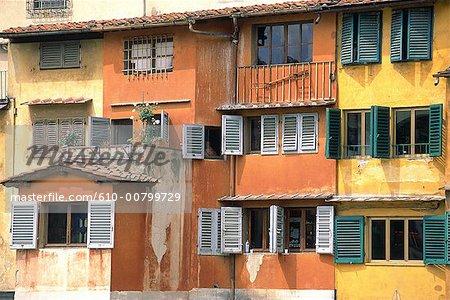 Italie, Toscane, Florence, Ponte Vecchio