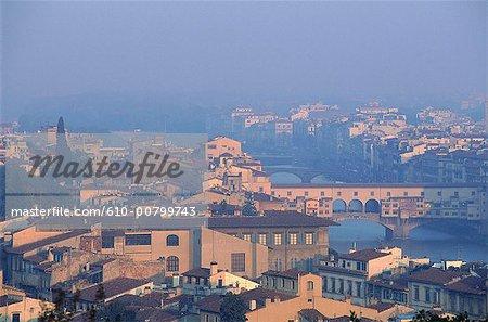 Italie, Toscane, Florence, vue générale