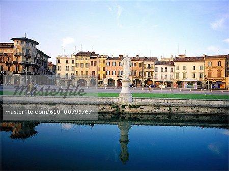 Italie, Padoue, Prato della valle