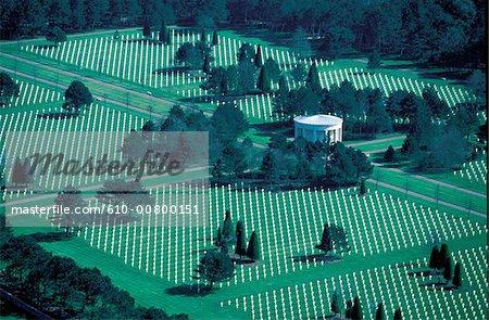 France, Normandy, Saint Laurent sur Mer, american cemetery