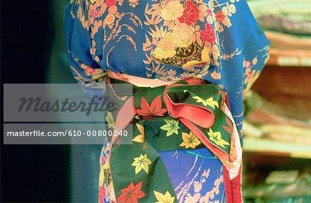 Japan, Tokyo, traditional wedding, ceremonial kimono