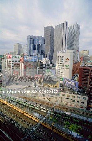 Japan, Tokyo, Shinjuku, business district