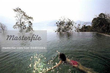 Chine, Taiwan, Sun Moon lake