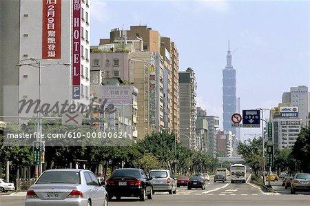 China, Taiwan, Taipei, Taipei Financial Center district