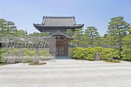 Temple Kenninji zen au Japon, Kyoto,