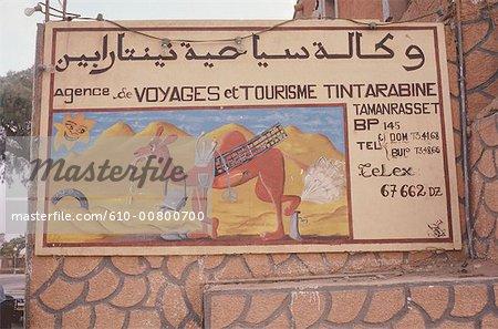 Algérie, Hoggar, Tamanrasset, guide touristique local