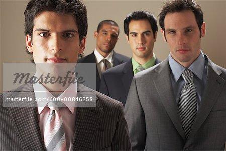 Portrait des hommes d'affaires