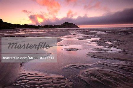Wharariki Beach, Golden Bay, Farewell Spit, Cape Farewell, South Island, Nouvelle-Zélande