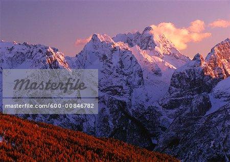 Mount Sorapis, Dolomites, Italy