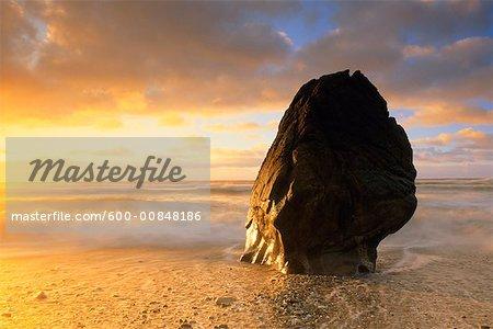 Formation rocheuse, Parc National de Paparoa, Nouvelle-Zélande