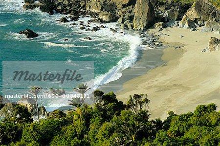 Côte ouest, Parc National de Paparoa, South Island, Nouvelle-Zélande
