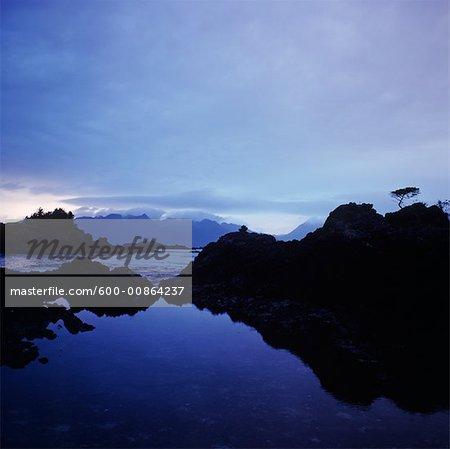 Kyuquot Sound, en Colombie-Britannique, Canada