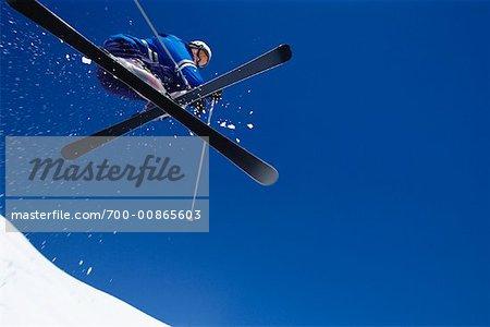 Man Skiing, Rauris, Slazburg Land Austria