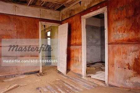 Room of Abandoned House, Namibia, Africa