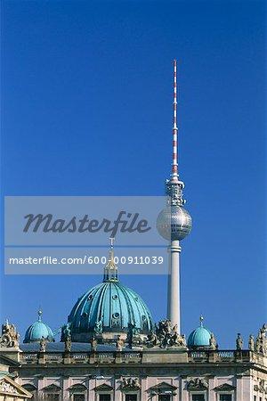 Berlin Television Tower, Berlin, Germany