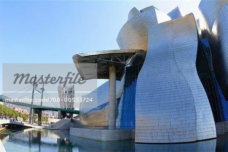 Guggenheim Museum, Bilbao, Spanien