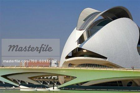 Palau de Les Arts, Stadt der Künste und Wissenschaften, Valencia, Spanien