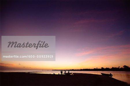 Owen Island at Sunset, Cayman Islands