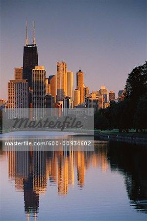 Cityscape, Chicago, Illinois, USA