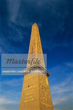 Obélisque de Louxor, Place de la Concorde, Paris, France