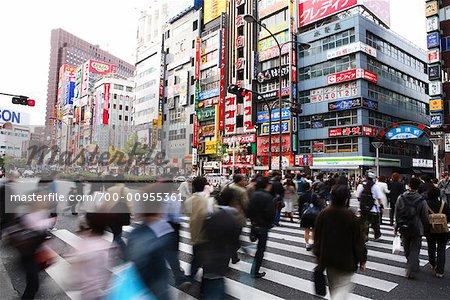 Tableau de concordance à Shinjuku, Tokyo, Japon