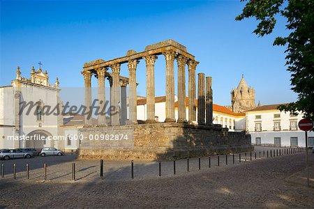 Temple of Diana, Evora, Portugal