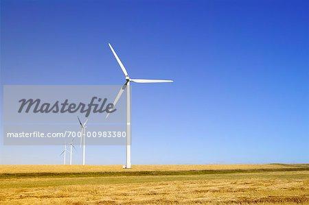 Wind Turbines, Manitoba, Canada