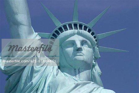 Majestueuse Statue de la liberté, New York, New York