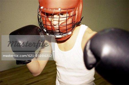 Position de boxeur