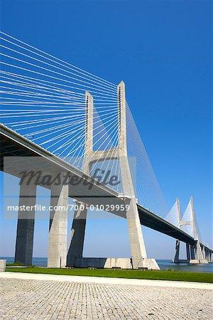 Ponte Vasco da Gama, Parque das Nacoes, Lisbon, Portugal
