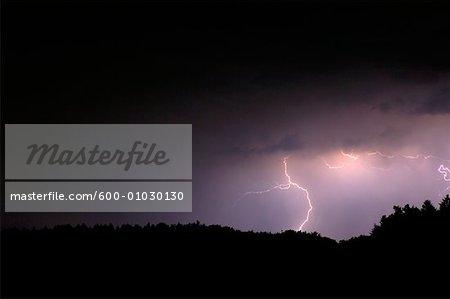 Lightning, Bavaria, Germany