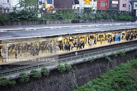 Train Station Outside of Akihabara, Japan