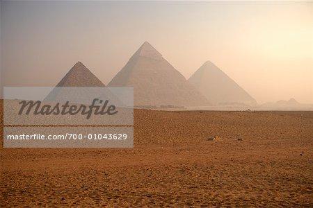 Giza Pyramids, Giza, Egypt