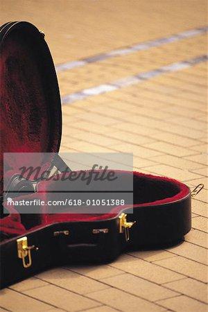 boîte de guitare