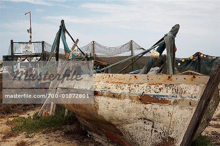 Deserted Boat, South Africa