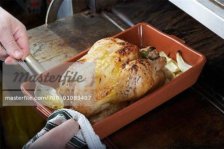 Citron poulet rôti