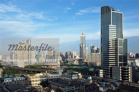 Paysage urbain, Shanghai, Chine