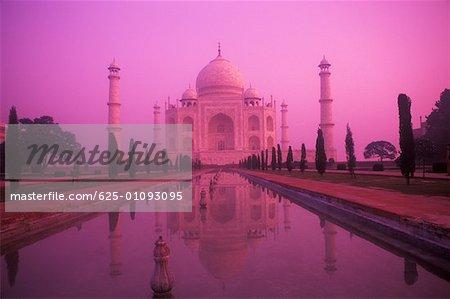 Facade of a monument, Taj Mahal, Agra, Uttar Pradesh, India