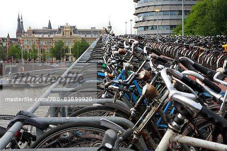 Bicycle Garage, Amsterdam, Hollande