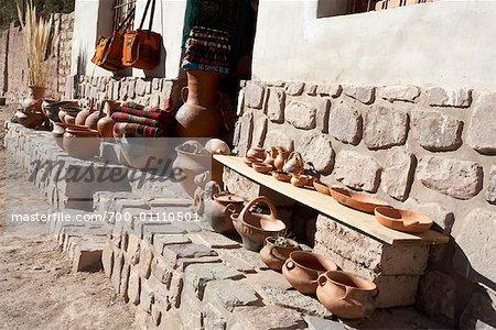 Pottery Store, Purmamarca, Jujuy Province, Argentina