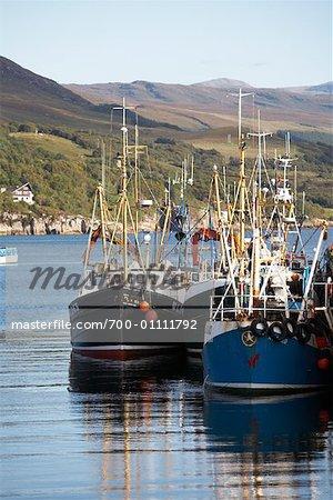 Bateaux, Ullapool, Écosse