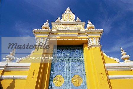 Gate to Royal Palace, Phnom Penh, Cambodia