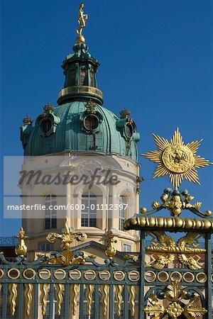 Exterior of Schloss Charlottenburg, Berlin, Germany