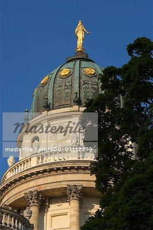 Dome of Deutscher Dom, Gendarmenmarkt, Berlin, Germany